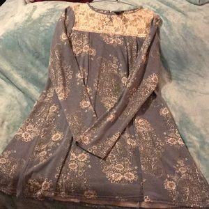 Dresses & Skirts - Miss ex light blue baby doll dress
